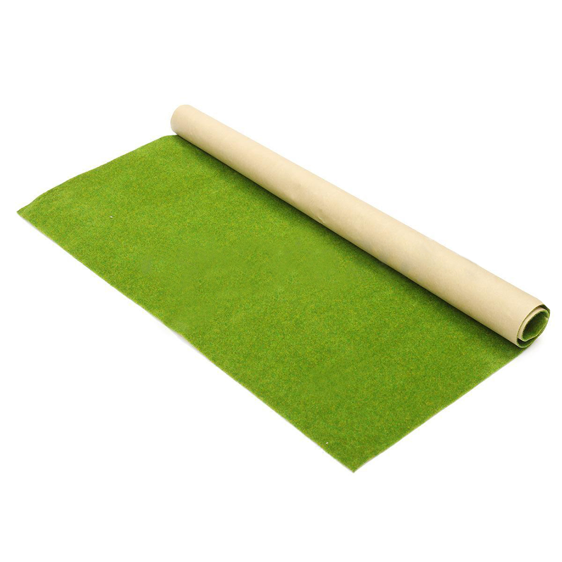 50x50cm Landscape Grass Mat Model Train Adhesive Paper Scenery Layout Lawn