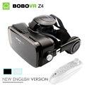 Новый Черный BOBOVR Z4 Виртуальной Реальности очки 3D Очки БОБО Р. box 2.0 с Гарнитурой google cardborad для 4.7-6.0 дюймов смартфон