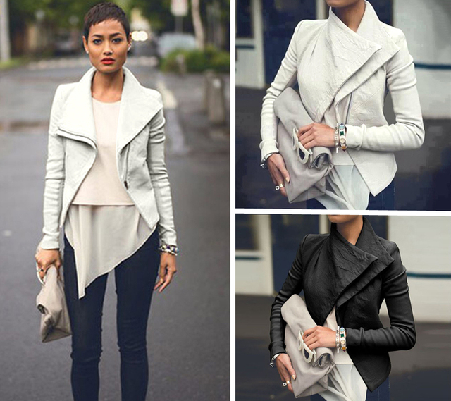 S Pink Faux Suede Waterfall Jacket
