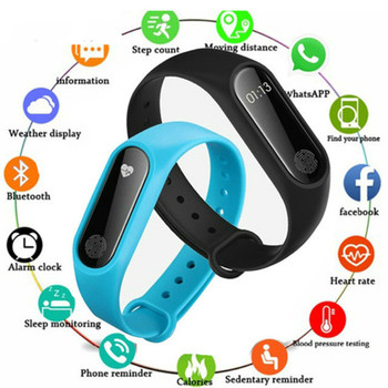 1c2443ca4ebe Barato nuevo inteligente de pulsera de Fitness Monitor de ritmo cardíaco  reloj podómetro rastreador de actividad