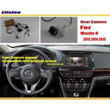 Автомобильная камера заднего вида/камера заднего вида, наборы для мазда 6, мазда 6, Мазда атенца 2012~, RCA и экран, совместимый