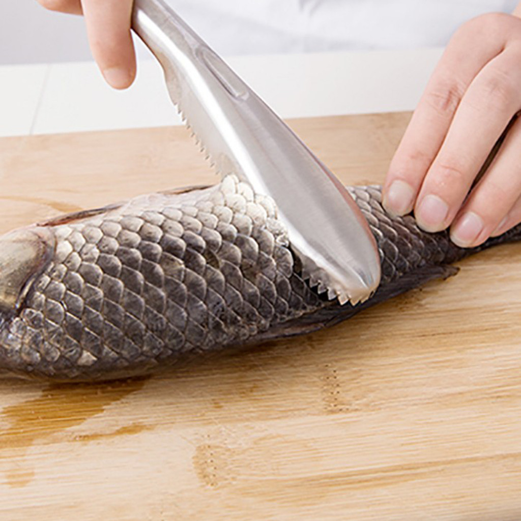 1 Pieza Herramientas De Pescado De Limpieza Rápida Piel De Pez De Plástico Escamas De Pescado Cepillo Removedor De Brochas Limpiador Descaler Skinner Scaler Herramientas De Pesca