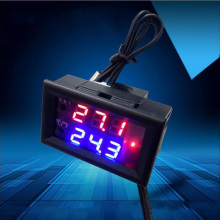 12V digital temperature controller thermostat switch adjustable temperature controller microcomputer temperature controller цены