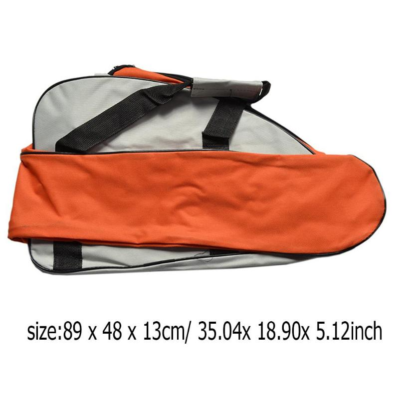 Portable Chainsaw Bag Carry Case Fit For 12'' / 14'' / 16'' Chain Saw Oxford Fabric Carrying Pouch Storage Bags Tool Packaging