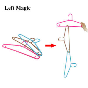 Hangers Linking Gimmick-Props Magic-Tricks Illusions Comedy Mentalism Plastic Multicolor