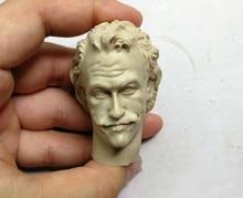 1/6 scale Head Sculpt Joker Heath Ledger unpainted for 12bodies