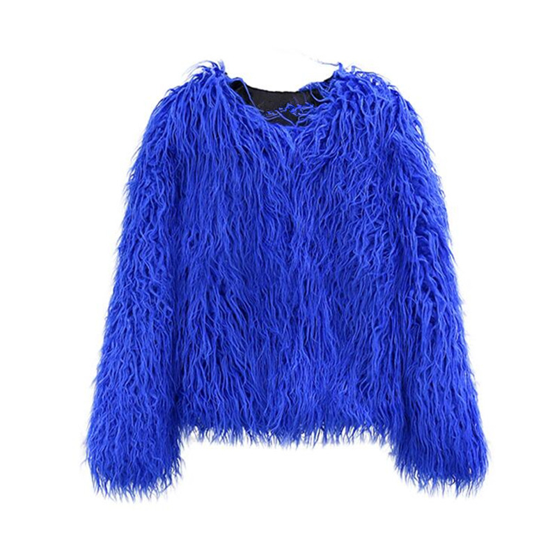 2018 New Baby and Monther Fashion Winter Fur Jacket Clothes Coat for Female Girl Children's Warm Plush Fur Tops Jackets Outwear novelty grey uniform style professional business women 2015 female blazers jackets outwear coat tops clothes blaser work wear