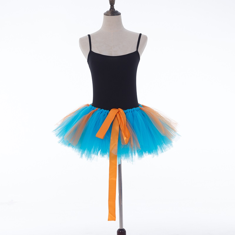 Tüll Tutu Rock Sexy Mini Phantasie Erwachsene Petticoat Fluffy Mesh - Damenbekleidung - Foto 3