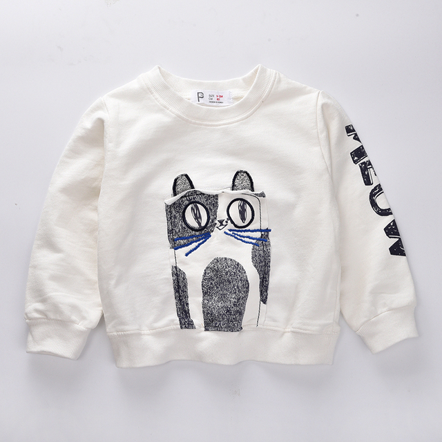Boys clothes  2016 Fall kids clothes full sleeve Owl hoody baby Girls clothes bobo choses boys t shirt children sweatshirt
