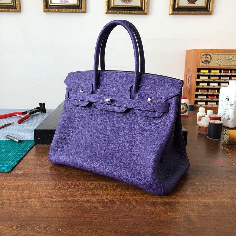 Leder Mode Hand Qualität Cm Berühmte Handtaschen Luxus Marke made 100 Damen 30 Klassische Die Höchste qawxgaf