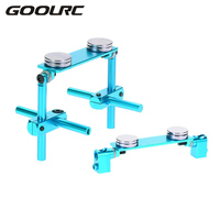 94122 Aluminum Alloy Magnetic Stealth Shell Column Post Mount Kit For 1 10 HSP Sakura D3