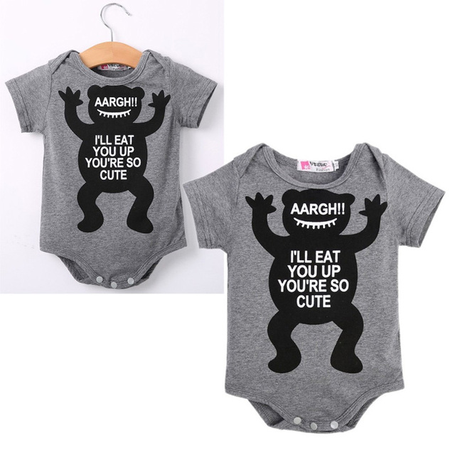 Baby Boy Infant Body Cartoon Baby Girls Bodysuits Pattern Newborn Baby Clothing Cotton Enfant Bodysuit