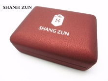 Фотография SHANH ZUN Deluxe Gift Box Jewelry Display Storage Case for Wedding Accessories Valentine