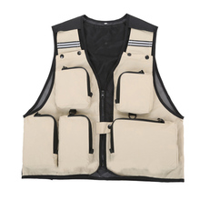 FZCSPEED Outdoor Sport Clothing Fishing Vest Summer Fishing Vest Multi Pocket Fishing Director Photojournalist Clothes 7 Colors