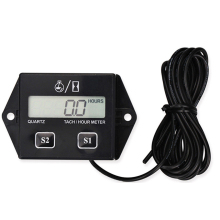 Car Tachometer for boat engine Pit Bike Chainsaw Motorcycle tachometer moto LCD Digital Display Moto Engine Tach Hour Meter battery replaceable inductive tach hour meter rpm meter for gas engine dirt bike motorcycle atv boat motocross chainsaw pit mx