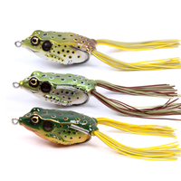 Fishing House Of The New LY03 55mm14g Sharp Double Frog Snakehead Designed To Kill Lures