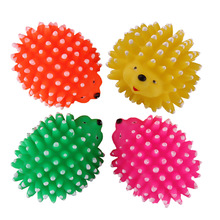 Cute Hedgehog Design Dog Toys Chews Squeaky Toy For Pet Dog Cat Puppy Sound Pet Supplies Toys