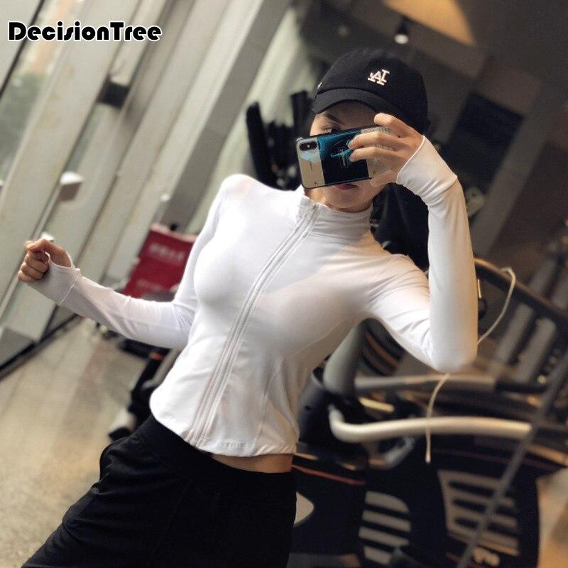 2019 women 39 s energy seamless yoga shirts short sleeve crop top basic scoop neck shirts for women yoga sports fitness gym in Yoga Shirts from Sports amp Entertainment