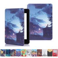 Nueva carcasa protectora para Amazon Kindle-Nuevo Ultra Slim Smart caso Funda de cuero 10th Gen 2019 liberado