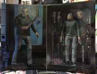 New 3D Cover Jason Horror Movie Friday The 13th Part 3 Ultimate NECA 7 Inch Action