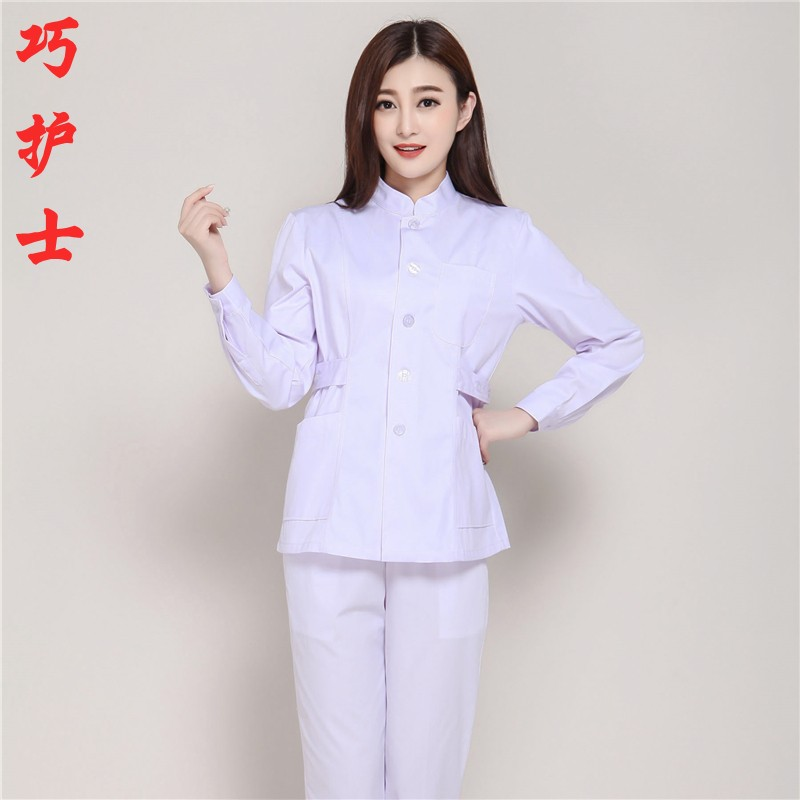 Medical dress, winter wear, long sleeves, long sleeve nurses uniform, doctors and nurses wear white lab coats