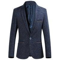 Autumn And Winter Men S Business Suits Jacket Jacket Fashion Business Casual Jacket Chinese Style Design