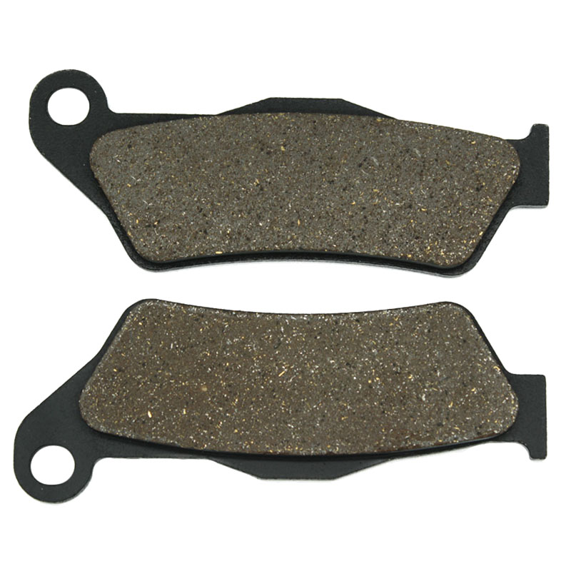 Cyleto Motorcycle Front Brake Pads for <font><b>KTM</b></font> SX440 & <font><b>EXC</b></font> 440 94-95 SX 450 03-07 SX-F SXF 450 07-13 <font><b>EXC</b></font> 450 03-12 <font><b>EXC</b></font> <font><b>500</b></font> <font><b>2012</b></font> image