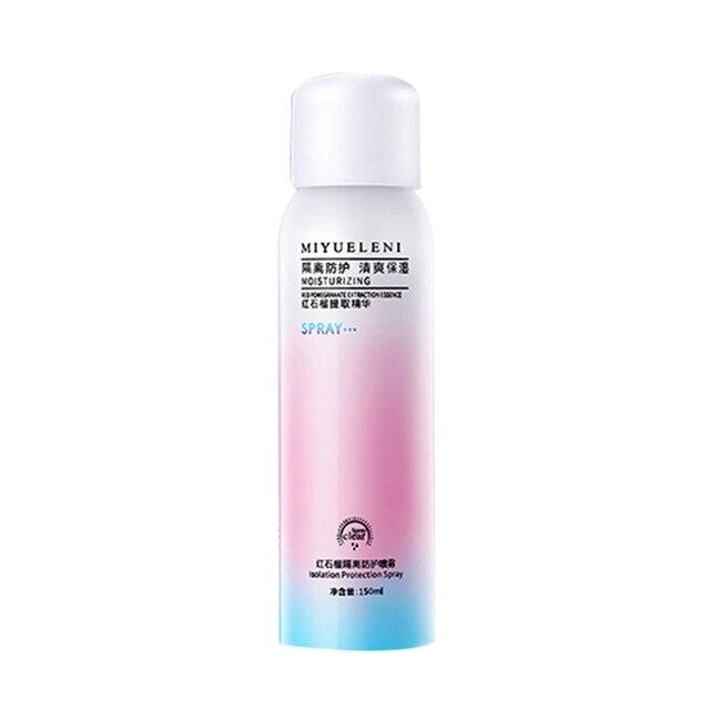 Professional 150ml Skin Protection Pomegranate Whitening Face Body Sunblock Anti-aging Sunscreen Spray Skin Care
