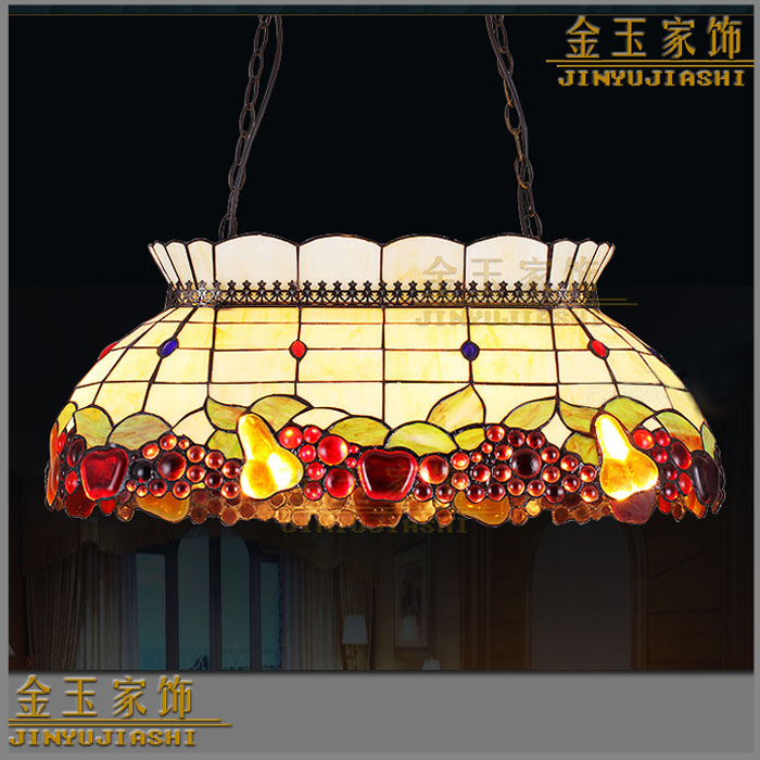 Luxury Western Restaurant Tifffany Style Club G Pendant Light Living Room Bar Hanging Lighting In Lights From