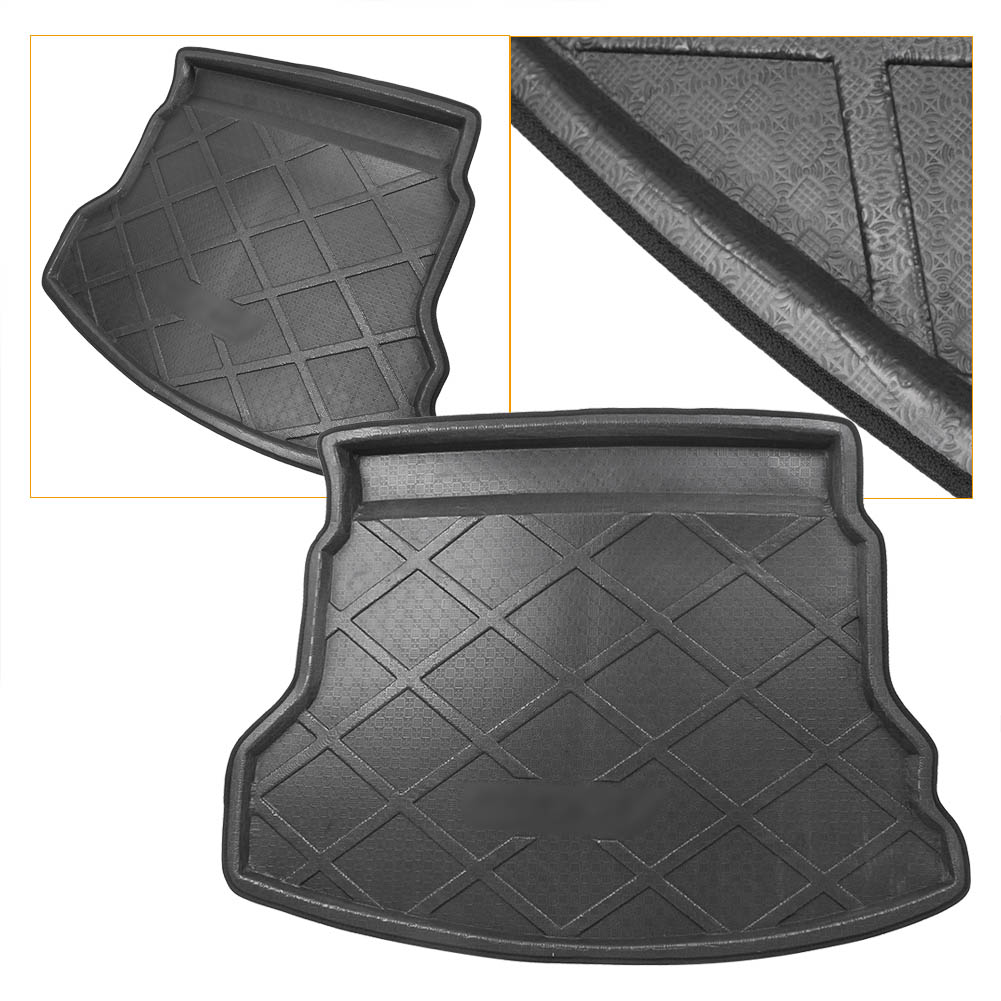 For Honda CRV Rear Trunk Cargo Liner Boot Mat Floor Tray Carpet Mud Kick Protector Cover ...