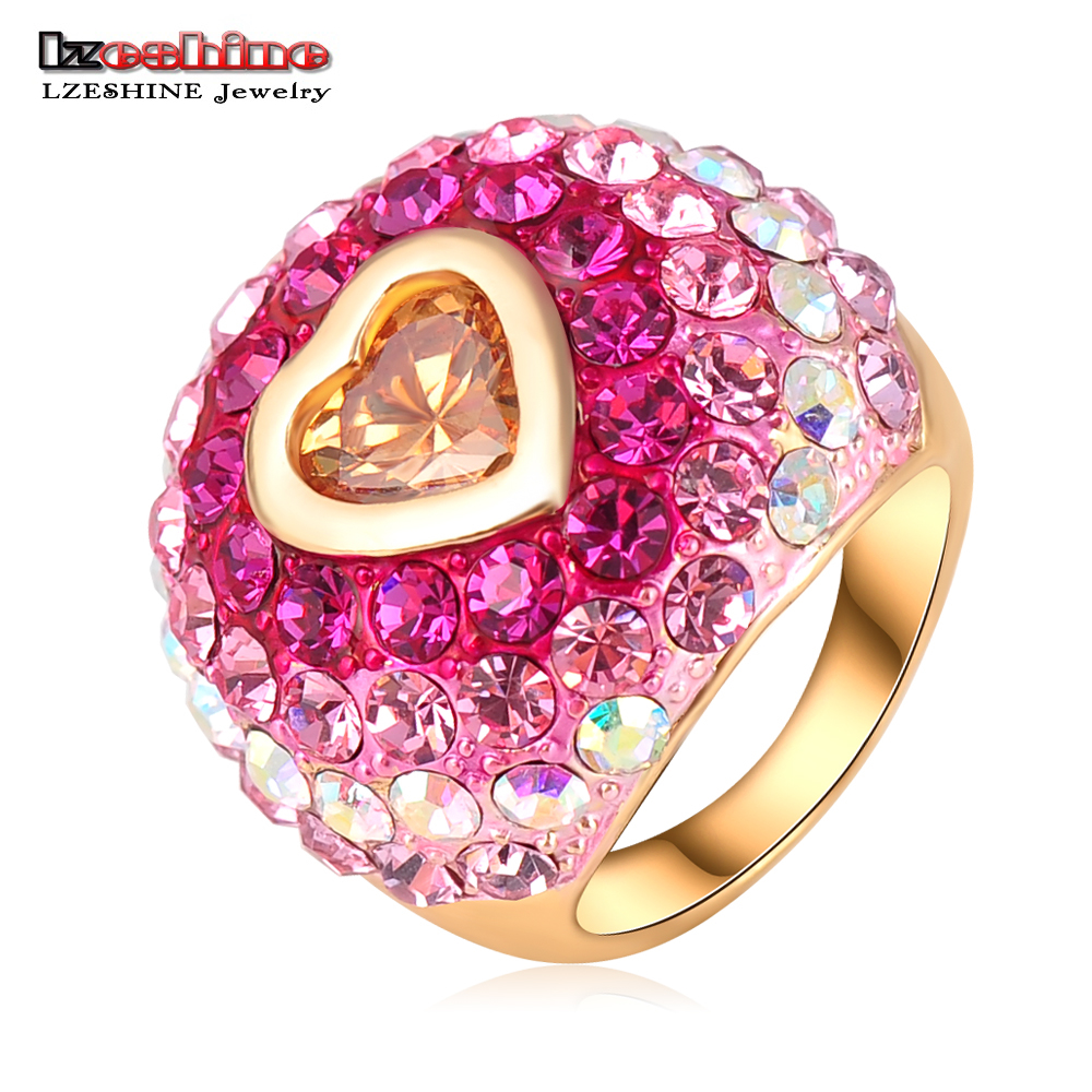 LZESHINE Brand Romantic Christmas Gift SWA Element Austrian Crystal ...