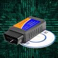 HOT! V2.1 ELM327 OBD2 WIFI Auto Scanner OBDII OBD 2 ELM 327 WI-FI Tester Ferramenta de Diagnóstico Do Carro para Android do Windows