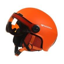 Moon лыжный козырек шлем 2019 интегрированное формовочное уличное