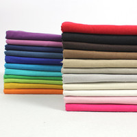 3Meter Lot 20Color Hemp Cotton Polyester Fabric Material Textile For Sewing Dress Cloth Curtain Handmade Diy