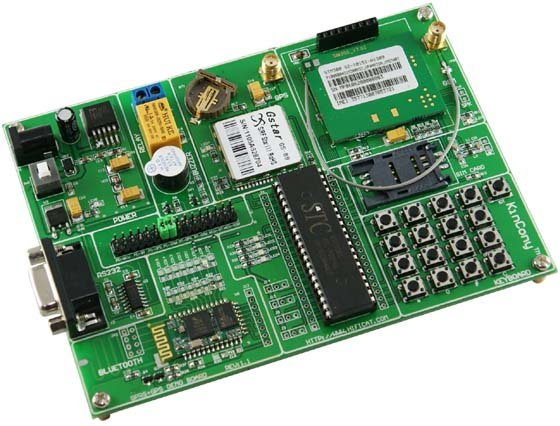 Bluetooth GPS GPRS MCU development board kit location tracking google map ...