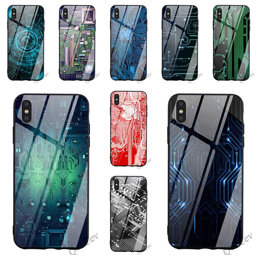 Ultra delgada de vidrio templado de la cubierta del teléfono para iPhone XR caso Xs Max X 6 6 S 8 Plus 7 5S 5 SE cubre de vuelta