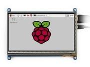 Wholesale module 2pcs/lot Raspberry Pi 7 inch Rev.2.1 Touch Screen RPi 3 B HDMI LCD Display Support Various systems Raspbian Ubuntu
