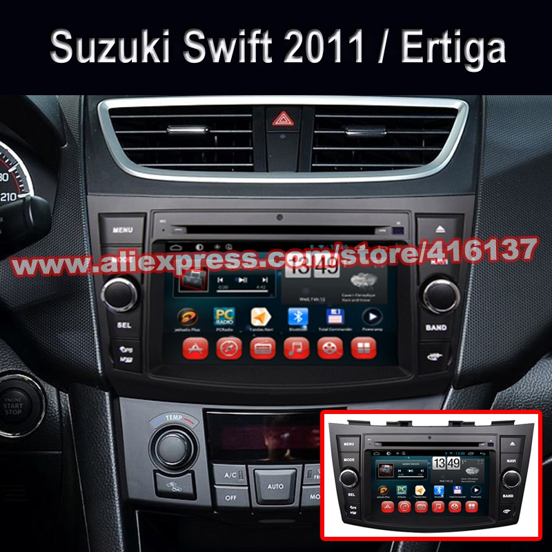 US $349 0 |7 0 inch Touch Screen Android For SUZUKI Swift Dzire Ertiga 2011  2012 2013 2014 Car DVD GPS Navi Wifi BT USB SD Port Radio AUX-in Car
