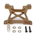 Front Shock Tower Absorber Plate 6839 For TRAXXAS SLASH 5807 Stampede Machined Alloy Aluminum Upgraded Hop-up Parts For RC Cars