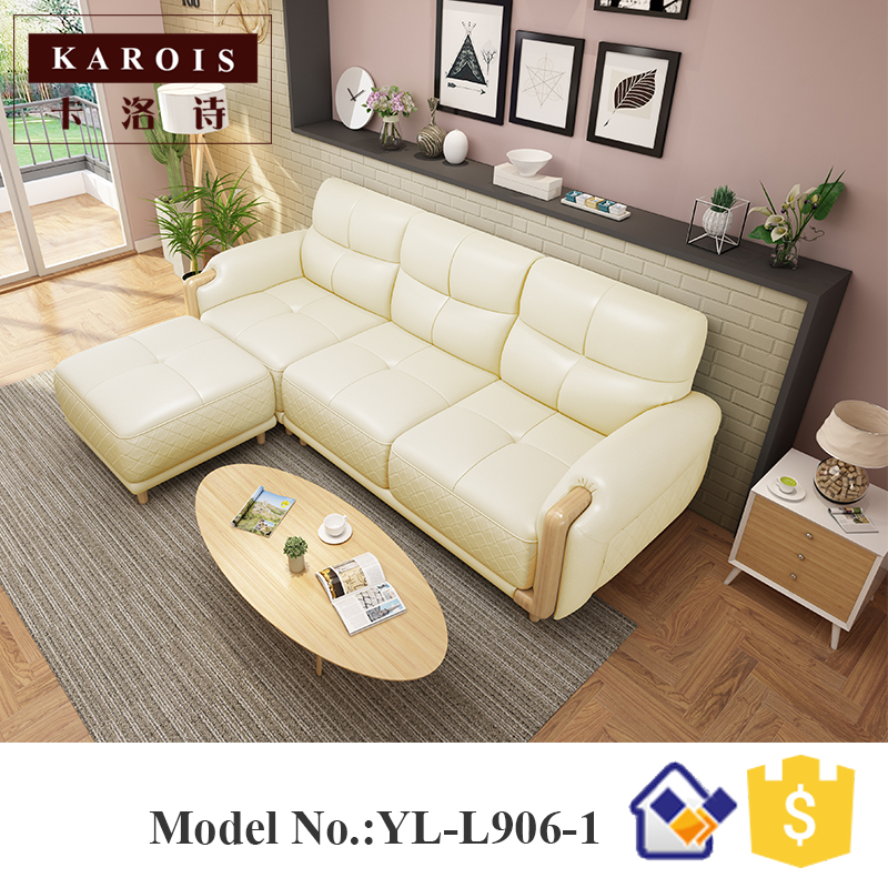 US $975.0 |Home furniture carving wood sofa modern royal nordic best sofa  set-in Living Room Sofas from Furniture on AliExpress