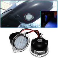 Car LED Under Side Mirror Puddle Light For Ford Mondeo Taurus F-150 Edge Fusion Flex Explorer Expedition Car styling