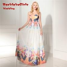 Bridal Elegant Lively Prom Dresses Chiffon Evening Dress