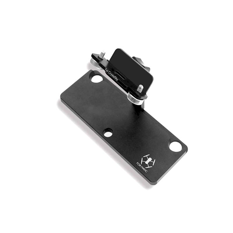 Sunnylife Mavic Pro 5.5 7.85 inch CrystalSky Monitor Holder Extension Aluminum Bracket Tablet Mount for DJI Spark Remote Control (3)