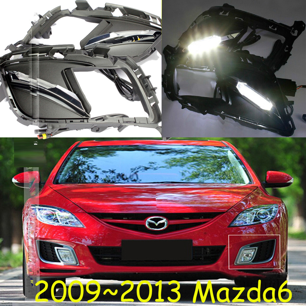 Car-styling,Masda6 daytime light,2009~2013,LED,Free ship!2pcs/set, Masda6 fog light;car-covers,CX-5,atenza,6