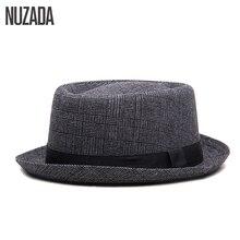 Brands NUZADA England Retro Men Couple Women Fedoras Top Jazz Hat Spring Summer