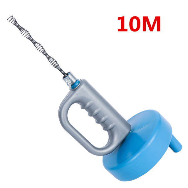 10M Upgrade Toilet dredger sewer drain cleaner pipe Sink Blockage Clog Remover Hand Tool home cleaning tools
