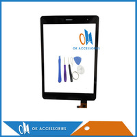 High Quality For Explay Art 3G Black Color Digitizer Touch Screen Glass With Tools 1PC