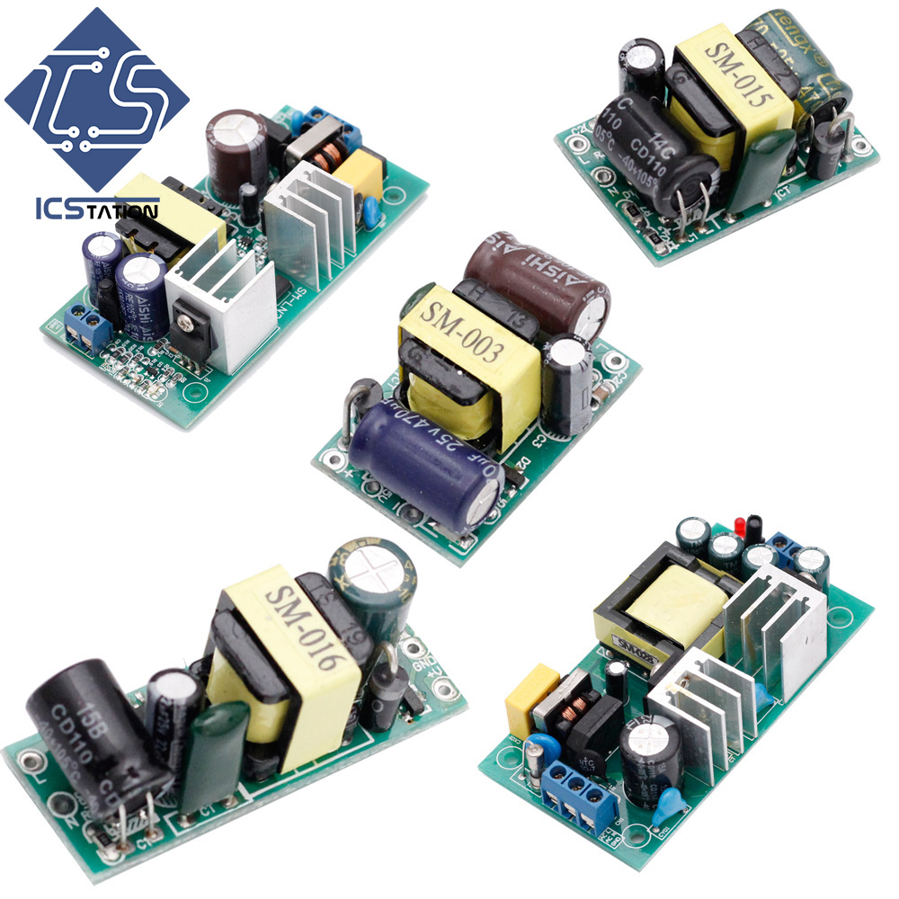 AC-DC Isolated Power Buck Converter Step Down Module Switch Power Module Isolated Switching Power Supply Module 12V~24V Series dc dc step down converter 24v to dual output 15v isolated power module buck switching power supply a2415s 1w quality product