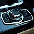 Интерьер ремонт мультимедийные кнопки Крышка Автомобильные Аксессуары Для BMW X1 X3 X5 X6 F01 F20 F30 F15