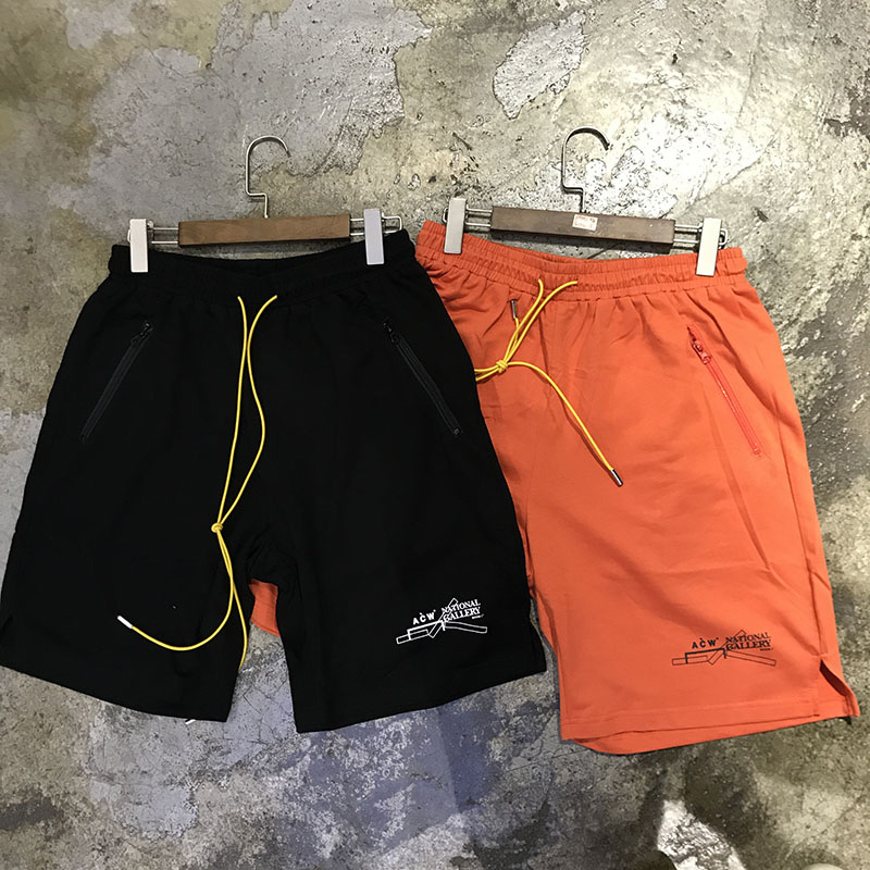 A-COLD-WALL ACW Shorts Men Sweatpants Kanye West A-COLD-WALL ACW Shorts Streetwear A-COLD-WALL ACW Beach Shorts  Anime Shorts